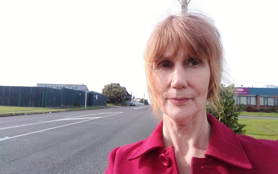Slaughterhouse Vigil, Land Meats, Whanganui, NZ:  28 July 2019