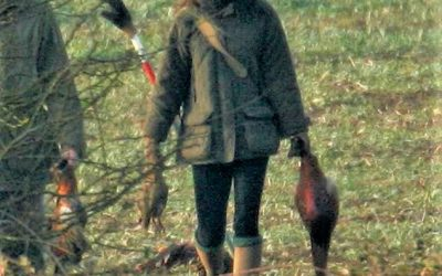 Watching Wounded Birds Fall From The Sky – Kate Middleton Takes Her Children Grouse Shooting