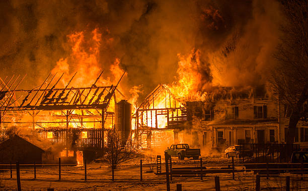Hundreds of chickens die in barn fire – yet again!