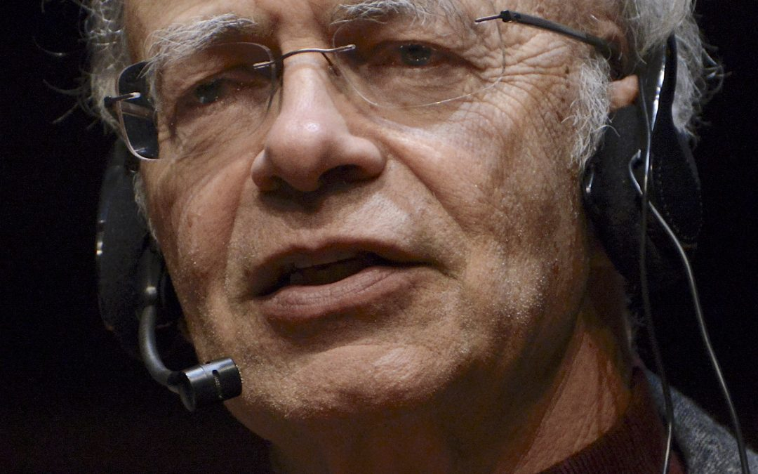 Peter Singer To Donate $1,000,000 prize to charities